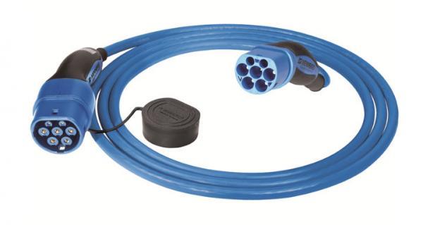 MENNEKES Ladekabel Typ 2 blau