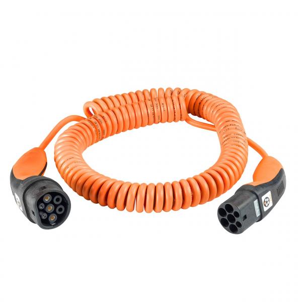 Lapp Ladekabel spiral Typ 2 - Typ 2 (bis 11 kW)